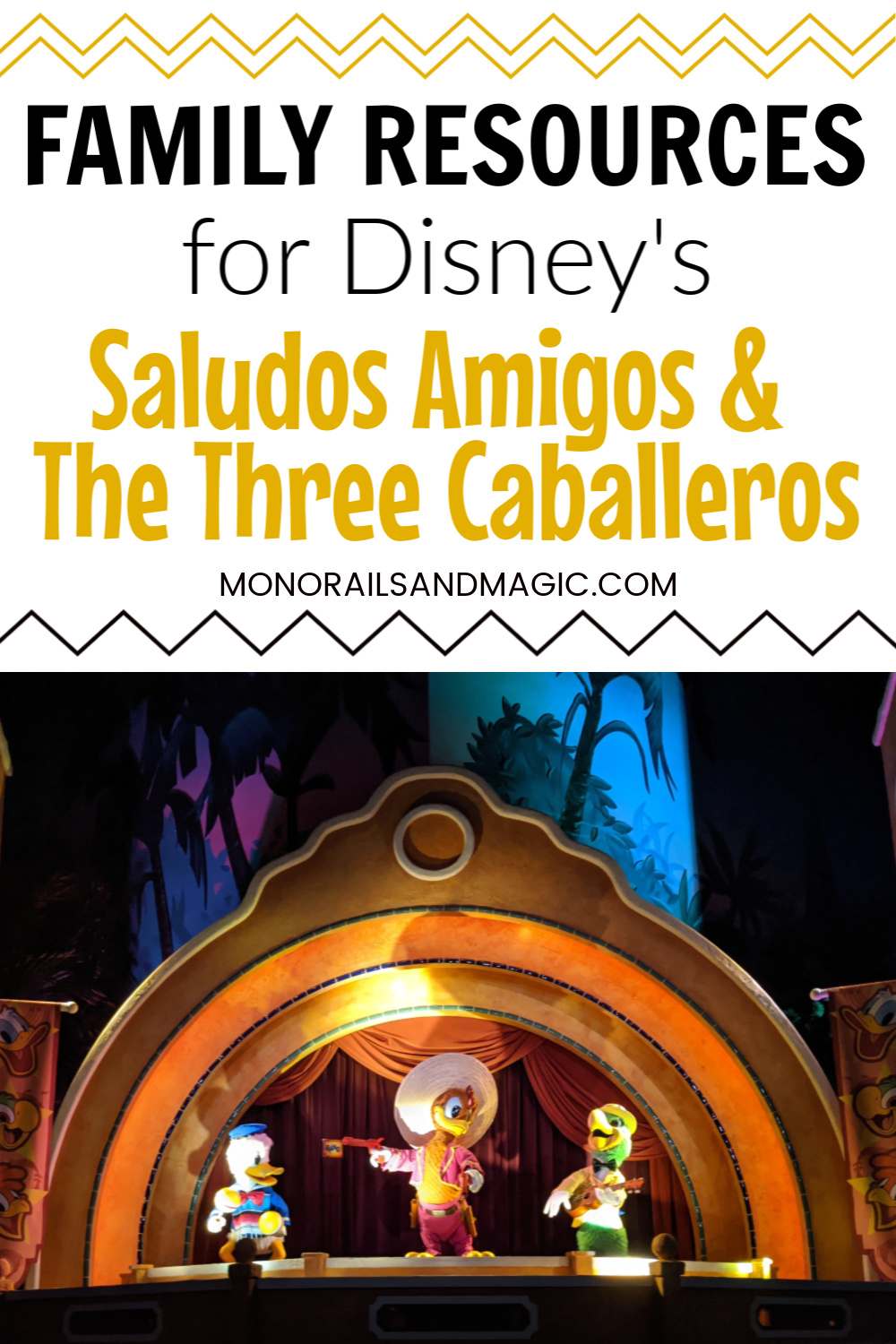Family Resources for Disney's Saludos Amigos and The Three Caballeros