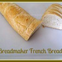 Breadmaker French Bread