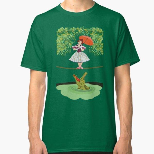 The Crocodile Girl T-Shirt on Redbubble