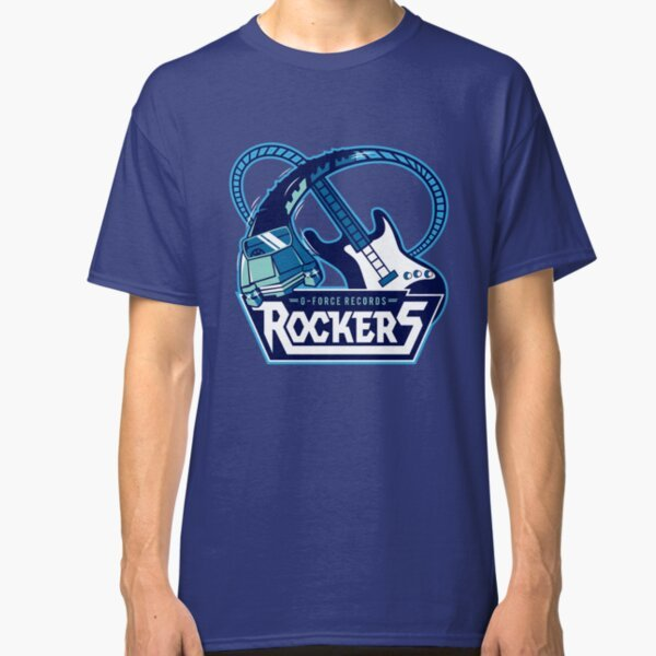 Rock n Roller Coaster T-Shirt on Redbubble