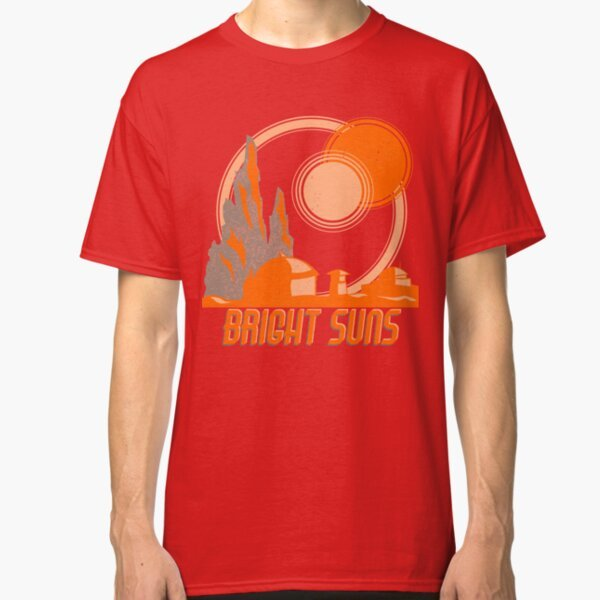 Bright Suns T-Shirt on Redbubble