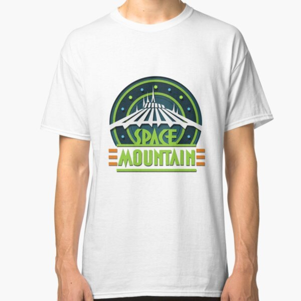 Space Mountain T-Shirt on Redbubble