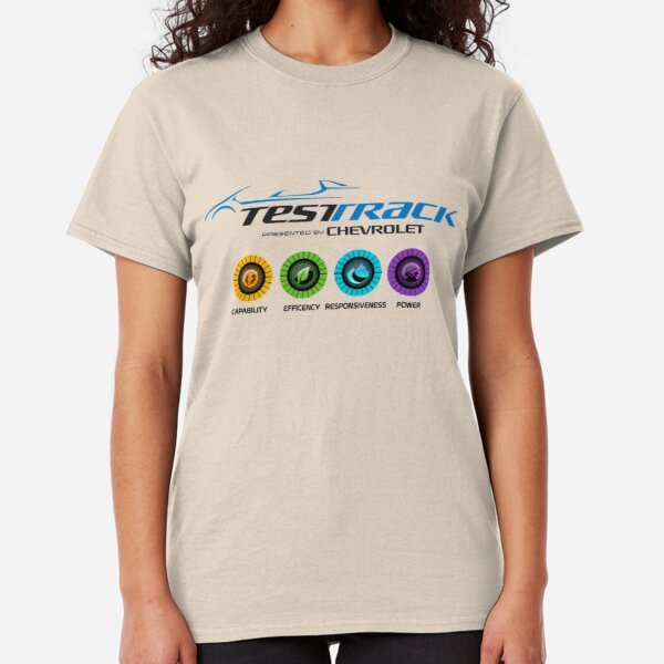 Test Track T-Shirt on Redbubble