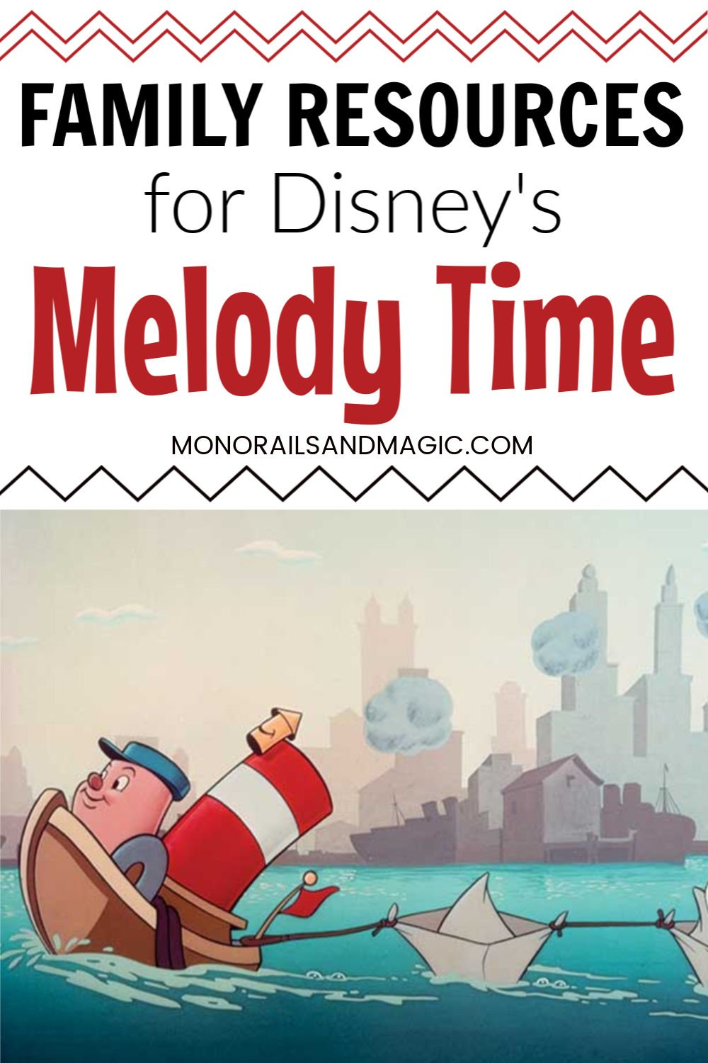 Family Resources For Disney S Melody Time Monorails And Magic