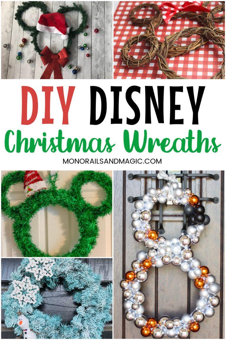 Easy DIY Disney Christmas Wreaths