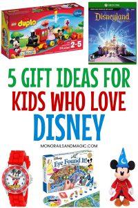Gift ideas for kids who love Disney