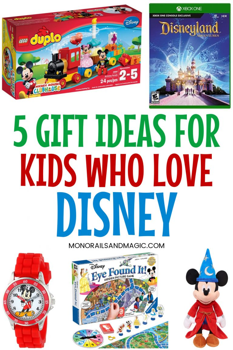 Gift ideas for kids who love Disney