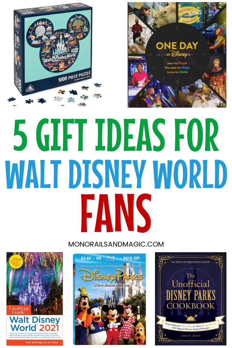 5 Gift Ideas for Walt Disney World Fans