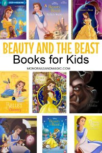Disney's Beauty and the Beast books for kids
