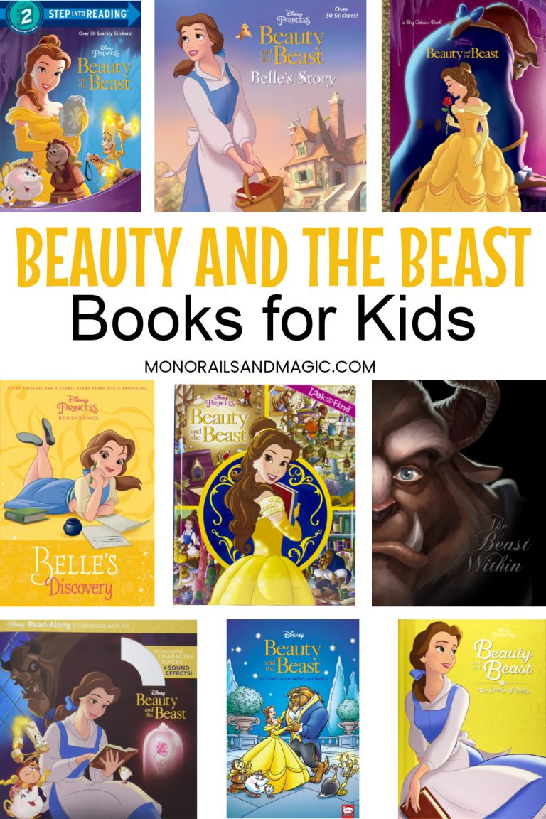 Beauty and the Beast Books for Kids