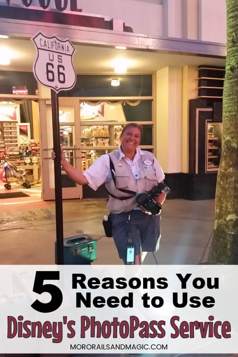 5 Reasons You Need to Use Disney's PhotoPass Service
