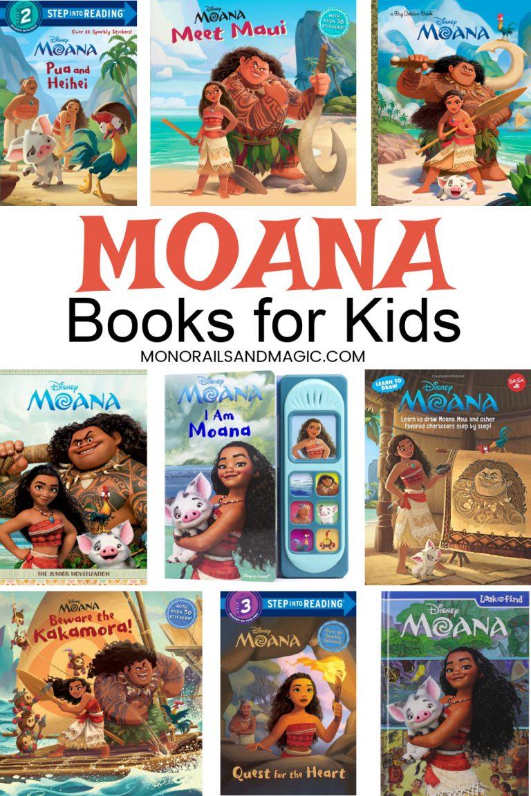 Moana Books for Kids