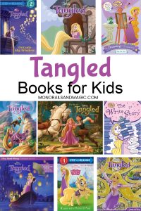 Disney Tangled books for kids of all ages