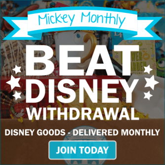 Mickey Monthly Disney Subscription Box