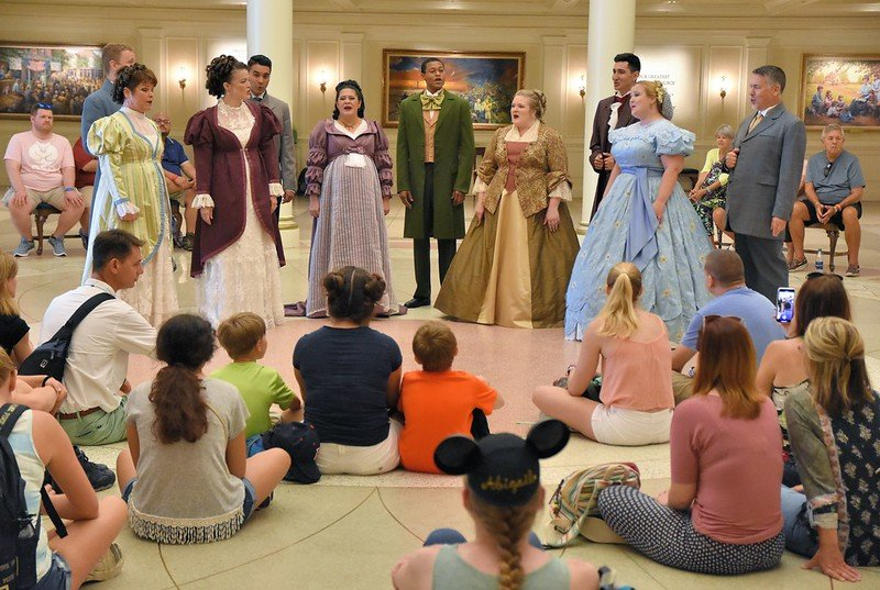 Voices of Liberty at Epcot's American Adventure