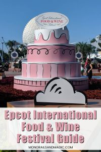 Epcot International Food and Wine Festival Guide