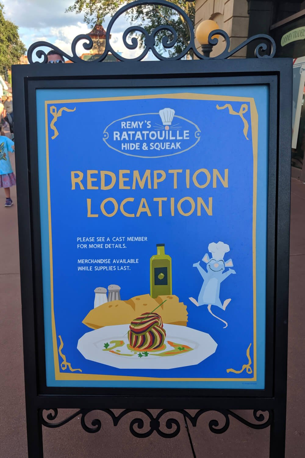 Remy's Ratatouille Hide and Squeak at the Epcot Food and Wine Festival